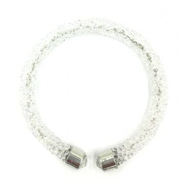 Sparkle dust cuff bracelet kit - crystal clear